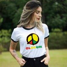 Olodum в стиле Майкла Джексона футболка с рисунком для женщин