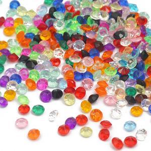 1000 _ 3,0 мм крошечные алмазные Акриловые Хрустальные Бусины, DIY украшения, поделки, Свадебная вечеринка, зеркальные бусины