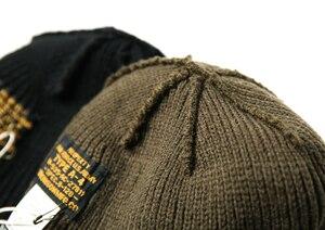 Image 2 - WW2 USAF A 4 หมวกขนสัตว์ 80% WW2 Replica A4 ฤดูหนาวที่อบอุ่นถักหมวก VINTAGE ทหารกลางแจ้งหมวกสเก็ตบอร์ด street Dance