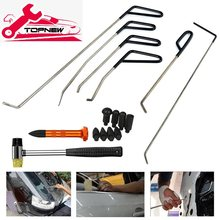 Pdr Kit Tool Bar Haak Tool Geen Verf Dent Repair Auto Deuk Remover Kit Hagel Hamer Dent Remover Pdr Kit(China)
