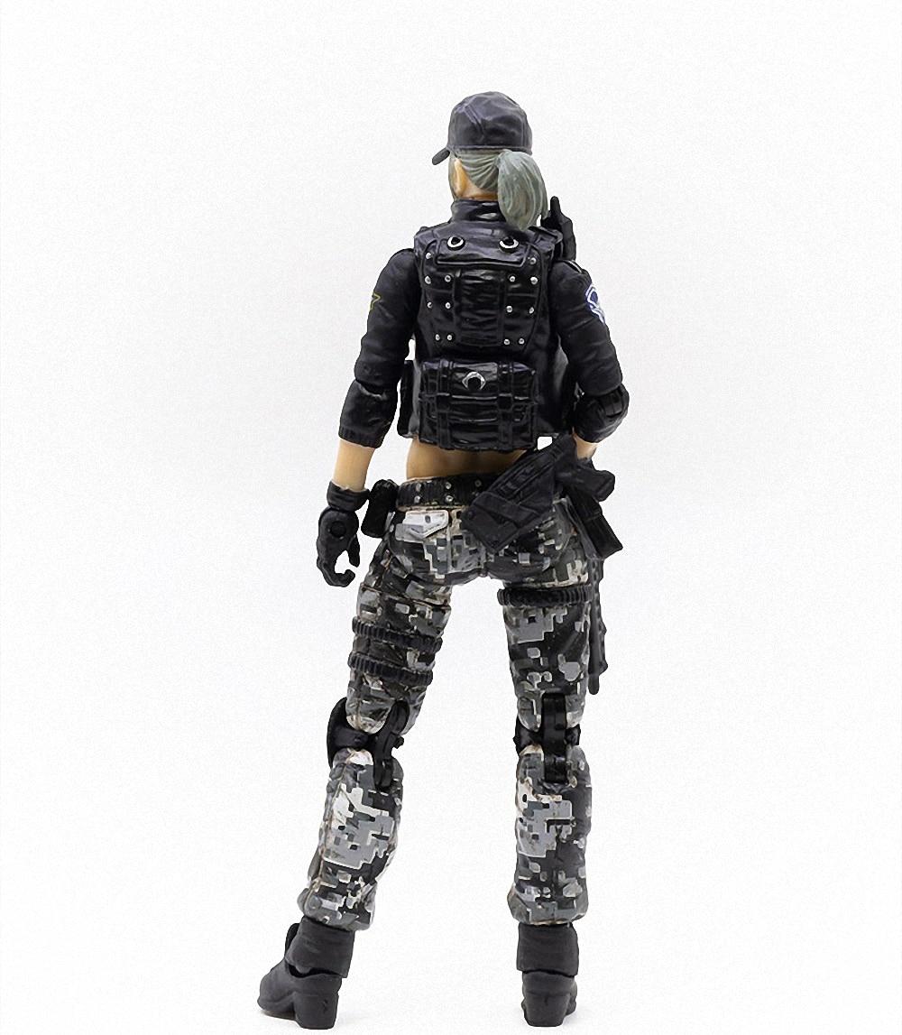 crossfire jogo femea fonte soldado figura modelo 04