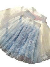 Spódnice wiek dla 4 #8211 14 lat nastoletnie dziewczyny koronkowe tiulowe spódnice niebieskie spódnice 2020 nowa jesienna zimowa odzież dziecięca spódnice bożonarodzeniowe tanie tanio MY GIRL MY BOY Na co dzień CN (pochodzenie) Pasuje prawda na wymiar weź swój normalny rozmiar COTTON Poliester Stałe