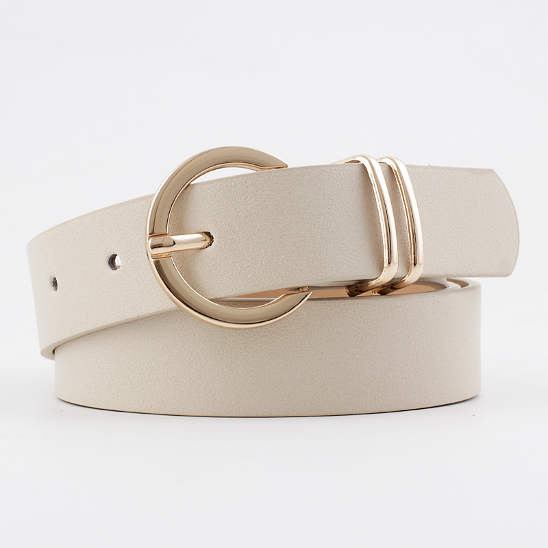 Designer High Quality Female Black Brown White Pink Wild Trouser Women's Belt Cowgirl Western Belts for Women Cintos De Mujer