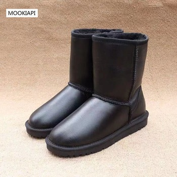In 2019, Australia's top quality men's snow boots, real sheepskin, natural wool, fashionable man's shoes, 7 colors
