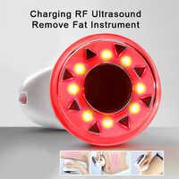 Radiofrequência facial e lapi aparelho de ultrassom emagrecimento instrumento ipl doméstico queima de gordura rugas remoção beleza ferramenta
