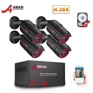 Image 1 - ANRAN système de vidéosurveillance 4CH 1080P