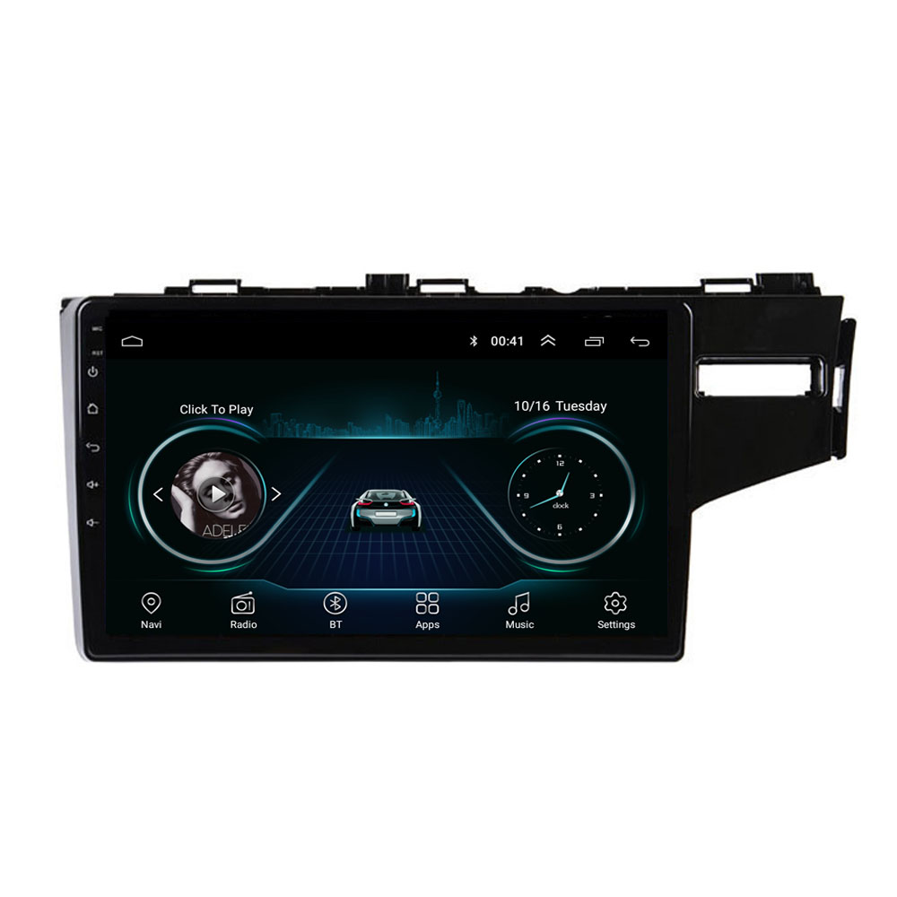 4G LTE Android 8.1 For HONDA JAZZ FIT Right Hand Drive 2014 2015 Multimedia Stereo Car DVD Player Navigation GPS Radio