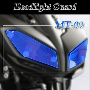 For YAMAHA MT-09 MT09 FZ-09 FZ09 MT FZ 09 2017-2019 Motorcycle Headlight Guard Head Light Shield Screen Lens Cover Protector