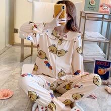 Womens Pajamas Sets Christmas Adult New Style 2019 Autumn Co