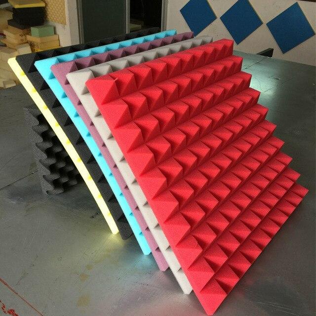 2PCS Thickness 3cm Acoustic Panels Soundproofing Studio Foam Treatment Sound Proofing Excellent Sound insulation Decoration