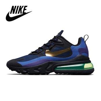 Açık Tenis Nike Air Max 270 Tepki Erkekler Için Koşu Ayakkabıları Orijinal Nike Airmax 270 Tepki Otantik