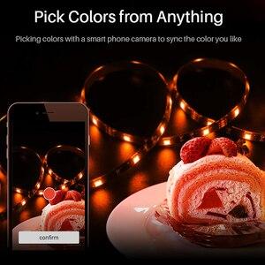 Image 2 - Sonoff L1 Smart LED Licht Streifen Wasserdicht Smart WiFi Flexible RGB Streifen Lichter APP Stimme Concrol Arbeit mit Alexa Google hause