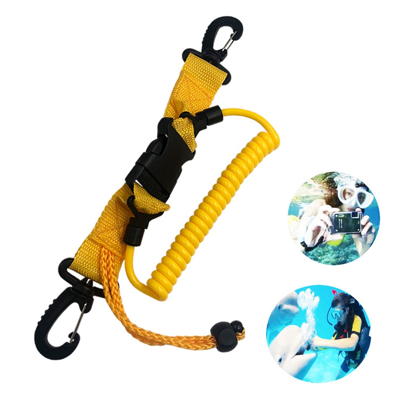 Diving Safety Quick-release Connection Anti-drop Rope For Hanging Camera Cover Guard Against Loss Of Hand Rope