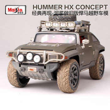 Coche todoterreno Maisto 1:18 HUMMER HX CONCEPT, modelo fundido a presión, juguete nuevo en caja, envío gratis con número de seguimiento 32133