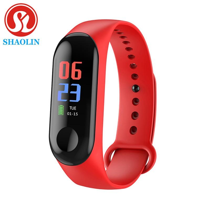 SHAOLIN Woman Smart Watch Men Smart Watch Sport Watch Electronic Smart Wristband Bracelet Watches Heart Rate Fitness Tracker