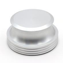 Hifi серебряные поворотные столы стабилизатор зажим LP Виниловые проигрыватели диск для записи стабилизатор вес Вибрация сбалансированный