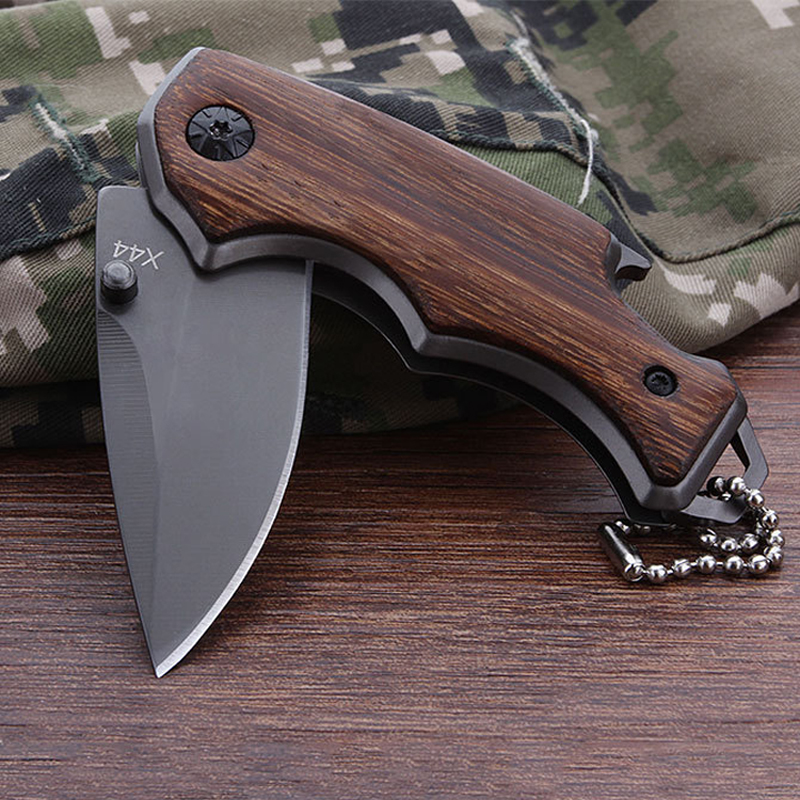 Mini Folding Knife Tactical Hunting Survival 7CR15MOV EDC Pocket Knives Utility Camping Outdoor Combat Knife Multi Tools