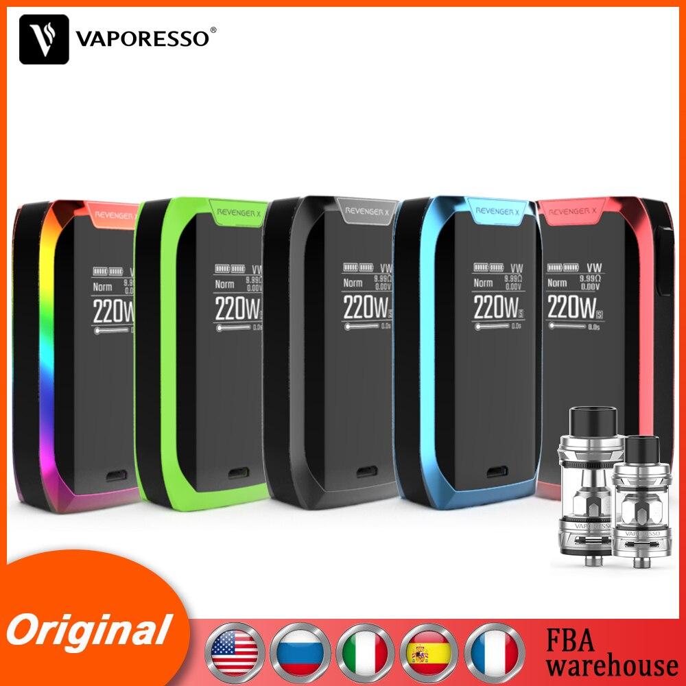 E-cigarette Original Vaporesso Revenger X Mod & NRG Tank 5ml NRG Mini Tank 2ml Revenger Vape Mod & Tank VS Vaporesso LUXE Kit