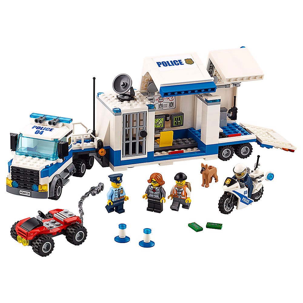 Mobile Command Center Compatible Legoe City Police 60139 Building Blocks Bricks Model Toys For Childrens Kid Gift 398Pcs