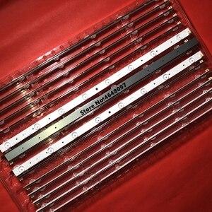Image 1 - Новинка 6 шт./лот 32 дюймовая Светодиодная лента для подсветки телевизора фотолампы 8 дюймов