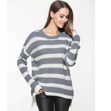 Large Size Sweater Female Pullovers Autumn of 2019 New Womens Long Sleeved Pullover Loose