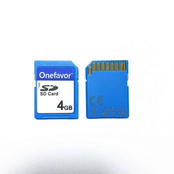 High Quality !!! 4GB SD Card Secure Digital SD Memory Card C10 for digital camera industrial test old devices