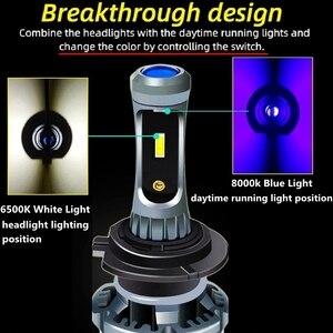 Image 3 - 2Pcs H4 H7 H11 H8 H10 H1 H3 9005 HB3 9006 HB4 5202 H27 880 881 9012 Auto LED scheinwerfer Lampen Hallo Lo Strahl Auto Scheinwerfer Nebel Lichter