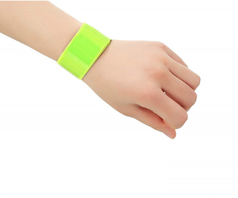 Children's Night Running Night Riding Reflective Bracelet Reflective Snap Ring, Reflective Wrist  Traffic Safety Warning And Pro