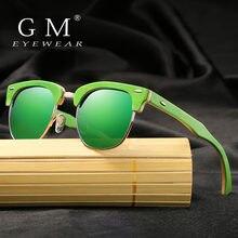 Солнцезащитные очки ручной работы gm поляризационные зеркальные