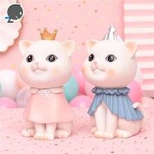 Украшение в виде сердца для девочек банки депозиты кота принцессы