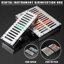 Instrument Autoclave Dental Disinfection-Rack Sterilizable-Box Cassette-Tray Linker Rubber