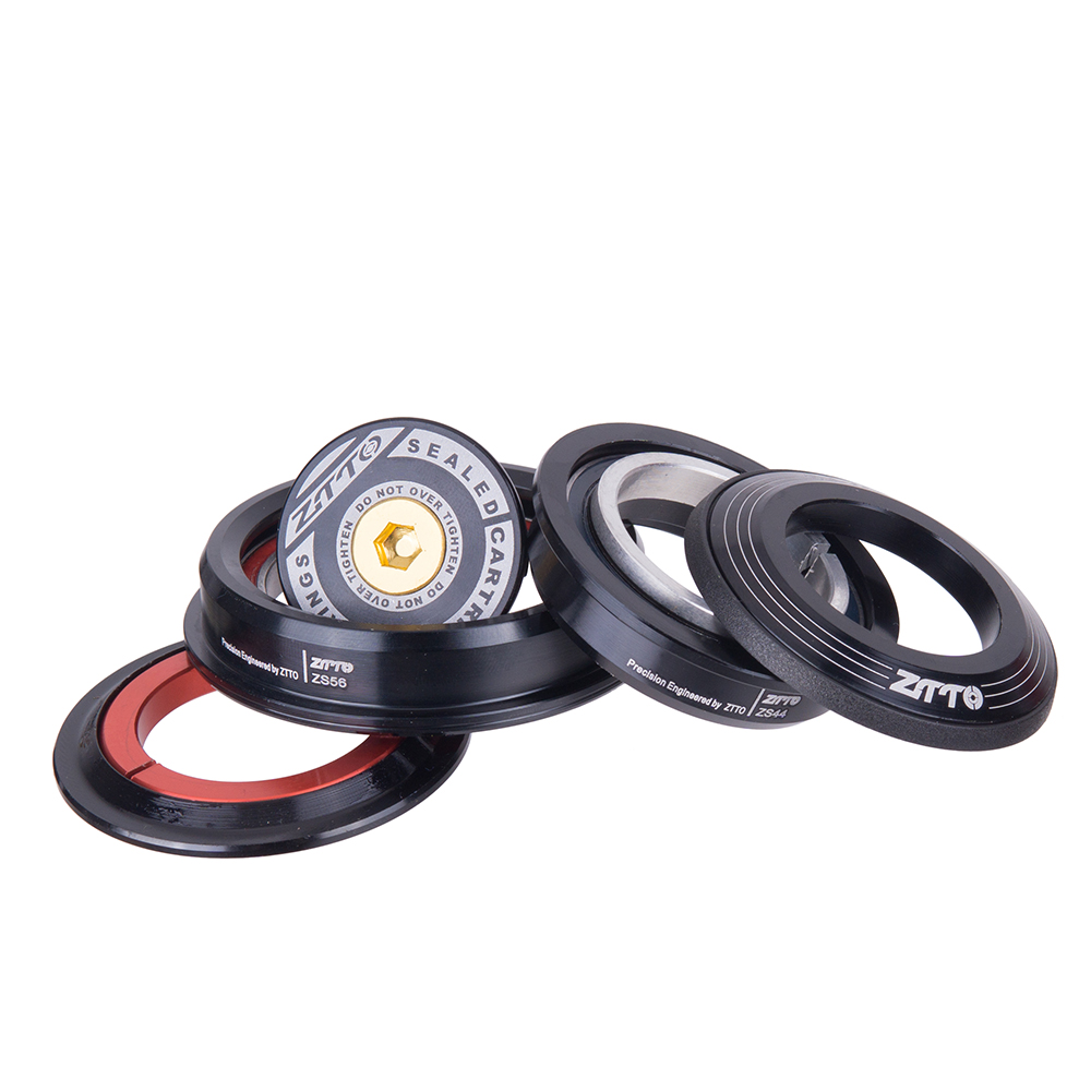 4456ST Mountain Bike Internal Headset 44mm 56mm Tapered Tube fork Straight ZS44 ZS56 Bicycle Threadless Headset For MTB Hot