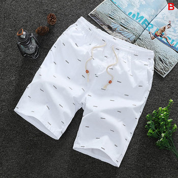 2020 letnie męskie spodenki dorywczo luźna przycięta spodnie spodenki sportowe luźny dzianinowy prosty dorywczo spodnie bawełniane krótkie spodnie nowy 4XL tanie i dobre opinie KKSKY CN (pochodzenie) Na co dzień Szorty KD008 COTTON Kolano długość Sznurek Stałe REGULAR Luźne Przycisk Shorts