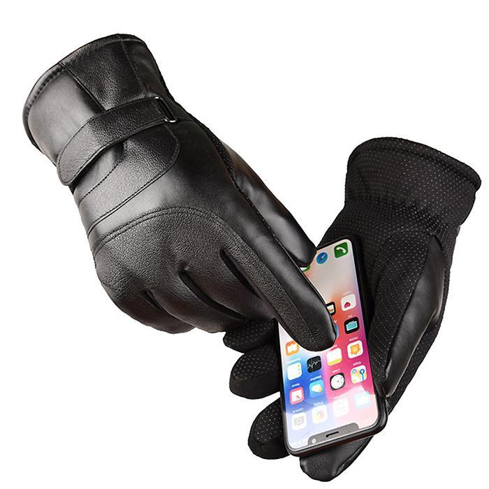 Touch Screen Gloves Waterproof Outdoor Sports Hiking Winter Touch Running Mountaineering Activities Screen Gloves Cycling Mitten