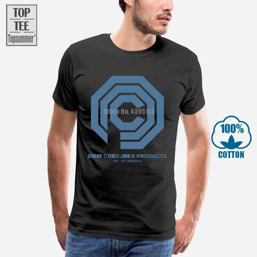 Мужская забавная Футболка Gildan, новинка, футболка Robocop, Ocp