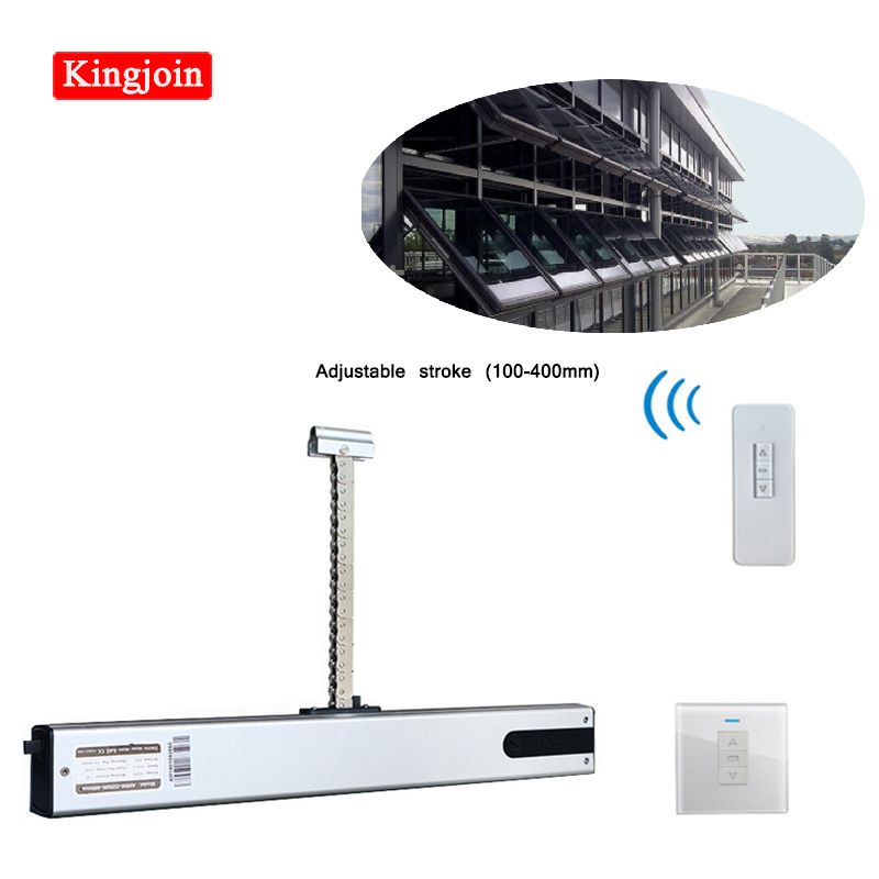 High Quality Intelligent 24V DC Automatic Electric Motorized Stainless Steel Chain Window Opener