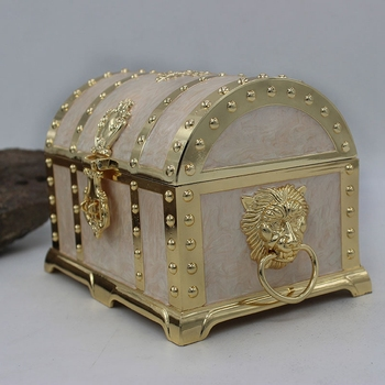 Jewelry Box Retro Craft with Lock Jewelry Box