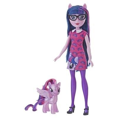 Original 2019 mon petit poney nouvelles poupées Pinkie Pie Action figurine ensemble equitation filles pour petit bébé cadeau d'anniversaire fille Bonecas - 5
