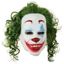 Arthur Fleck T Full Face Non-toxic Latex Mask Horror Joker Clown Mask Halloween Party Cosplay Costume Drama Performance Props lifelike mask sf 5 silicone skinmask dressing props cd change non toxic factory