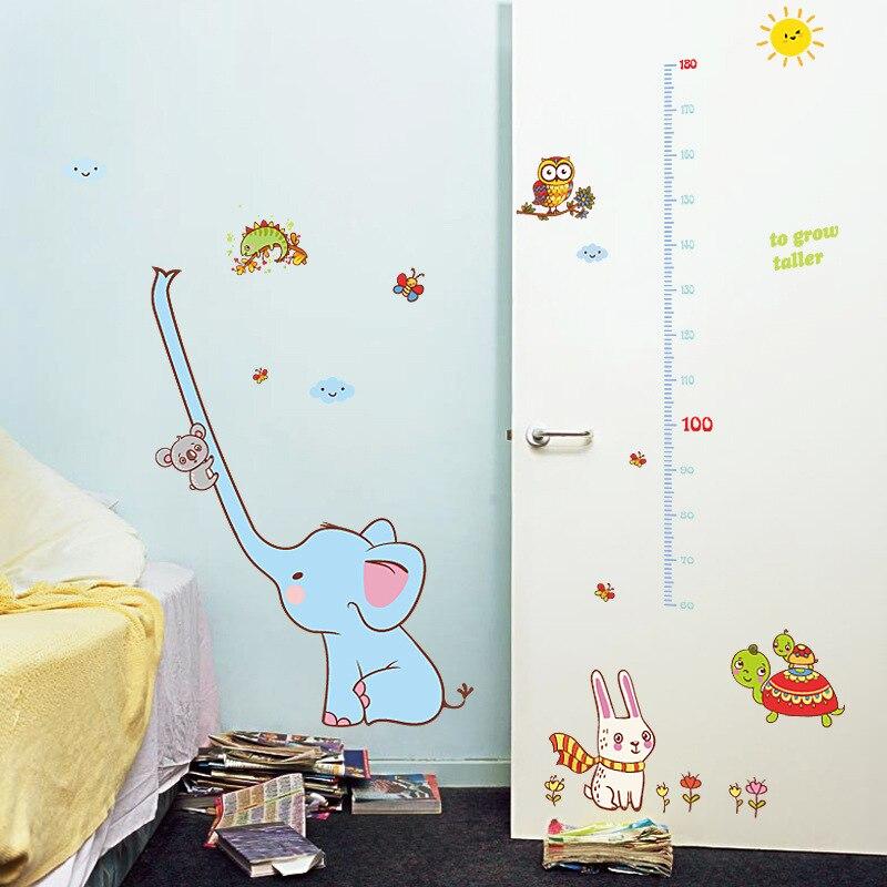 Купить наклейка с изображением слона животного из мультфильма высоты