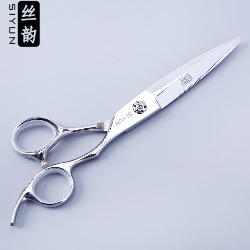 SI YUN 6.0inch(17.50cm) Length WB60 Model SUS440C Material Scissors Hair High Quality Hairdressing Hair Care Styling Tools