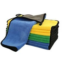 20 Packthick Auto Care Detaillering Polijsten Microfiber Fiber Thuis Wassen Super Absorberende Auto Handdoek Reiniging 30X30CM Polyester