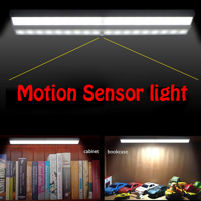 10 LED PIR Motion Sensor Light Wireless Stick-on Wardrobe Cabinet Closet Night Lamps White/warm White Nightlight Lamp For Home