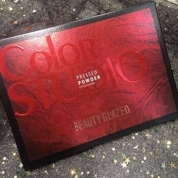 35 Colors Eye Makeup Nudes Palette Matte Earth brush set stamps pigment Eyeshadow Pallete glitter powder Eye Shadows TSLM2