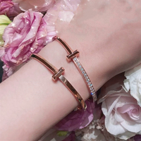 NEW Fashion Bracelets Bangles Party Birthday Valentine Gift Hot Sale 1:1 S925 Sterling Silver Brand Jewelry for Women Girls