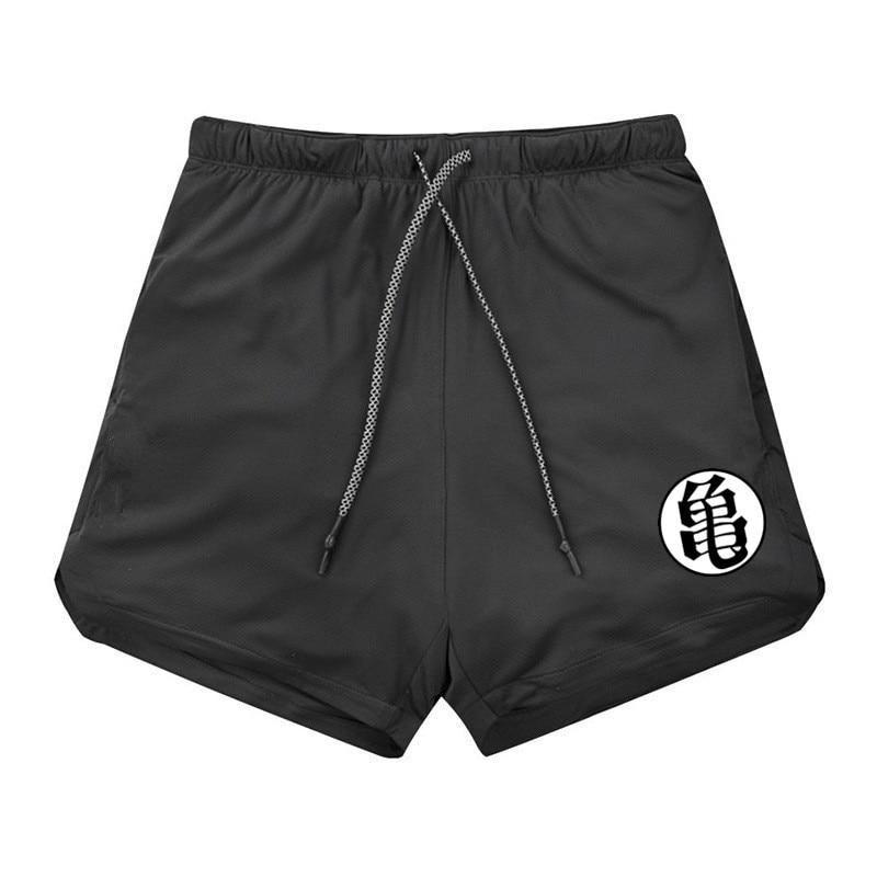 2019 NEW Men's Running Shorts Mens 2 In 1 Sports Shorts Male Double-deck Quick Drying Sports Men Shorts Jogging Gym Shorts Men