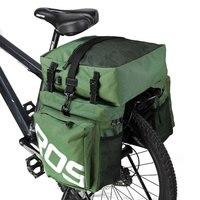 Sahoo 3 In 1 Fahrrad 37L MTB Rennrad Tasche Gepäck Träger Pannier Hinten Stamm Rack Taschen Licht Reflektierende Optional regen Abdeckung