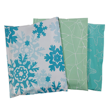 10PCS Poly Mailer 9.8x11.6inch/25x29.5cm Colorfull Mix Pattern Gift Bags Holiday Shipping Bags Self Sealing Mailing Envelopes