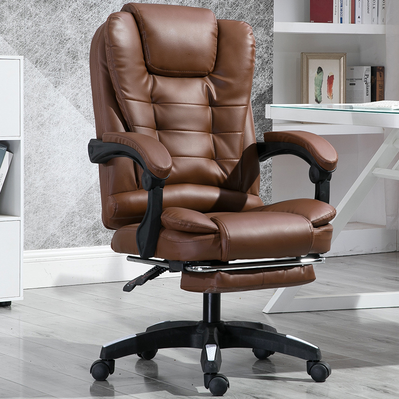 Computer Chair Massage Can Lie Down For Lunch Break Student Dormitory Owner Swivel Chair Office Leather Chai