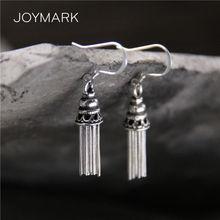 Женские серьги с кисточками в стиле ретро из стерлингового серебра